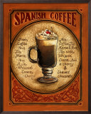 Spanish Coffee Print by Gregory Gorham