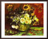 Vase of Flowers Art by Vincent van Gogh
