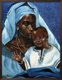 Black Madonna and Child Posters by Ballenger