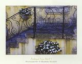 Antique Iron Rail I Posters by Barbara Ellison