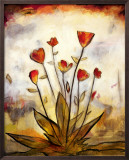 Poppy Garden I Prints by Lucia Marque