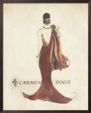 Glamour Collection IV Prints by Carmen Dolce