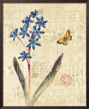 Botanical on Wood I Posters by Katie Pertiet