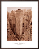 Flatiron Building, New York Print by Sergei Beliakov