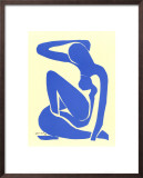 Blue Nude I, c.1952 Art by Henri Matisse