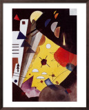 Tension in Height Prints by Wassily Kandinsky