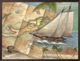 West Indies Schooner Posters by Ron Jenkins