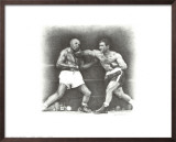 Rocky Marciano: the Punch Poster by Allen Friedlander