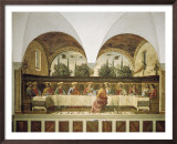 Last Supper Print by Domenico Ghirlandaio