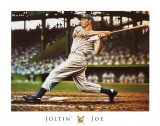 Joe DiMaggio Prints by Darryl Vlasak