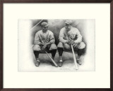 Ruth and Gehrig Print by Allen Friedlander