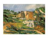 Houses at the Estaque Prints by Paul Cézanne