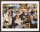Le Moulin de la Galette Posters by Pierre-Auguste Renoir