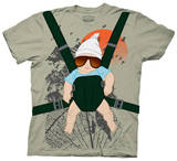 The Hangover - Baby Bjorn Costume Tee Tshirt