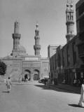 Exterior of One of Many Mosques in City Premium Photographic Print