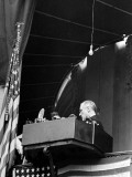 President Franklin D. Roosevelt Repeating Oath of Office at His Inauguration Premium Photographic Print
