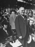 Senator Harry S. Truman, Attending a Baseball Game Premium Photographic Print