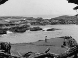 Ben Hogan Day for Club Members at Cypress Point Golf Course Premium Photographic Print