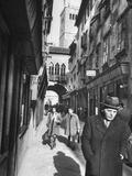 """Street of Shoemakers,"" Located in Capadistria Premium Photographic Print"