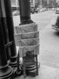 Houston Newspapers Welcoming General Douglas Macarthur to Texas Premium Photographic Print