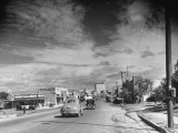A View of the City of San Angelo from the Railroad Station Premium Photographic Print