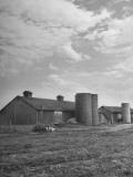 Long View of the Farm Premium Photographic Print