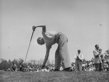 Golfer Dwight D. Eisenhower Playing in the Washington Post Golf Tournament Premium Photographic Print