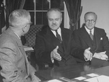 Vyacheslav M. Molotov Meeting with President Harry S. Truman Premium Photographic Print