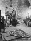 Architect Le Corbusier Working Photographic Print