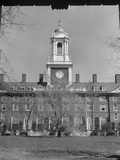 Exterior of Eliot House at Harvard University Premium Photographic Print
