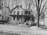 Exterior of a House in a Vermont Town Premium Photographic Print