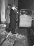 President Harry S. Truman Leaving the White House Premium Photographic Print