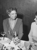Mrs Franklin D. Roosevelt During the Women's Press Party for Her Premium Photographic Print