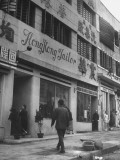 A Hong Kong Tailor Shop in Chungking Premium Photographic Print