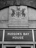 Exterior View of the Hudson's Bay Company and Hudson's Bay House Building Premium Photographic Print