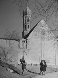 A Church in Bavaria Premium Photographic Print
