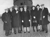 Mrs. Franklin Roosevelt and Others Representing the UN Assembly Premium Photographic Print