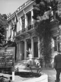 Exterior of the Headquarters of the Allied Mission for Observing Greek Elections Premium Photographic Print