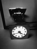 A Clock Face Furnishing its Own Light Premium Photographic Print