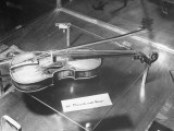 Close-Up of Composer Wolfgang Amadeus Mozart's First Violin, Photographic Print
