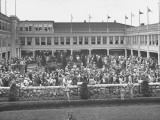 Spectators Attending the Kentucky Derby Photographic Print