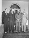 President Harry S. Truman with Democratic Candidates Premium Photographic Print