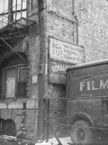 Exterior View of One of the Buildings Used as a Hangout for Al Capone Premium Photographic Print