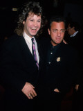 Musicians Ozzy Osbourne and Billy Joel Premium Photographic Print