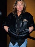 Actor Kato Kaelin Wearing Planet Hollywood Jacket Premium Photographic Print
