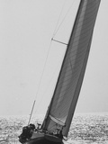 """Colombia"" During Trial Race for the America's Cup Premium Photographic Print"