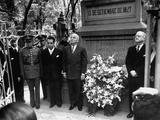 President Harry Truman Standing Premium Photographic Print