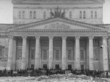 Exterior of the Bolshoi Theatre Premium Photographic Print