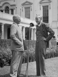 President Harry S. Truman Presenting Harry Hopkins with the Legion of Merit Premium Photographic Print