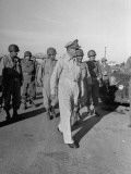 General Douglas Macarthur in Manila Premium Photographic Print